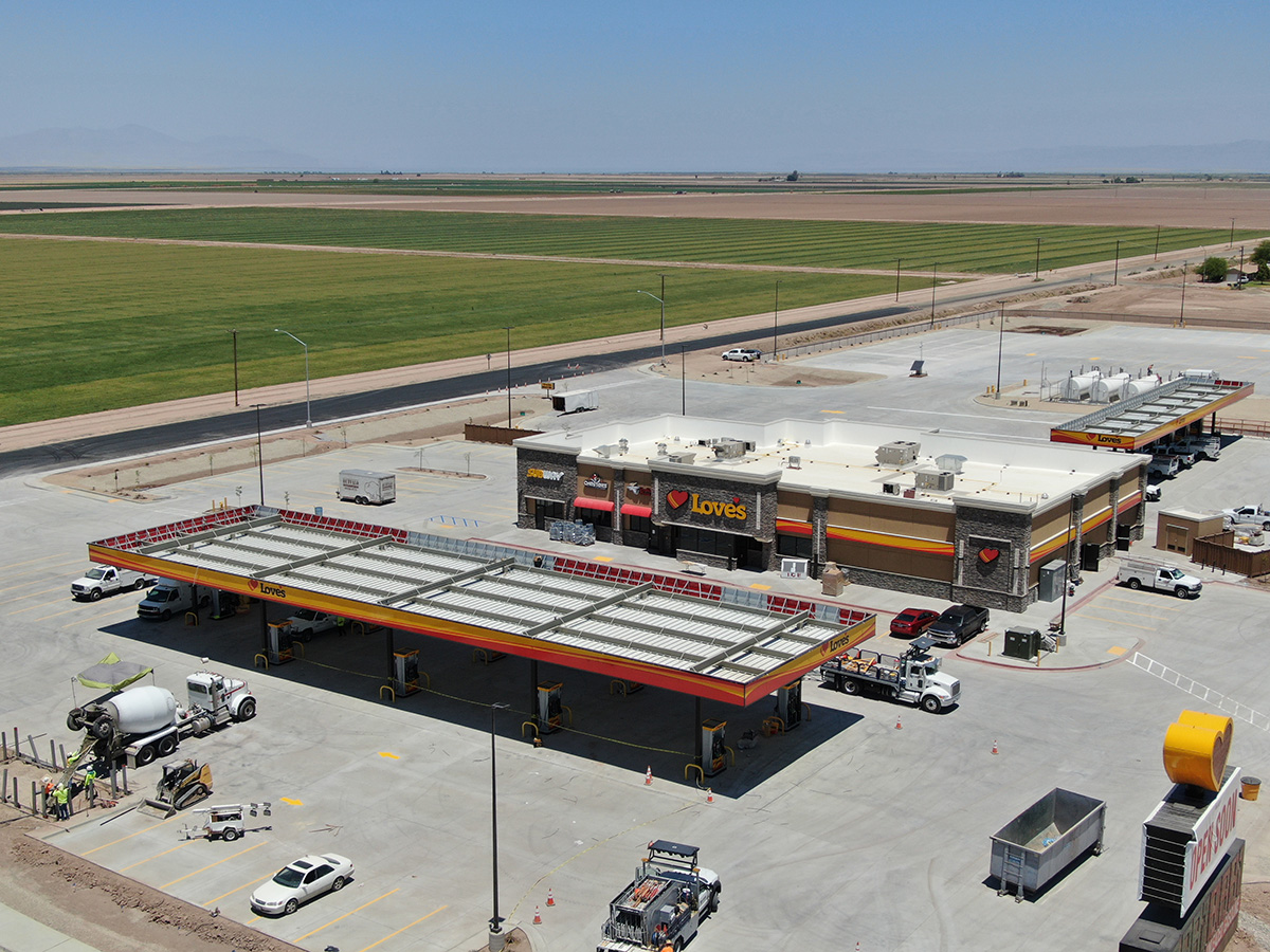LOVE's TRAVEL STOP #749 Project | Western Pump Construction and Fuel System Installation