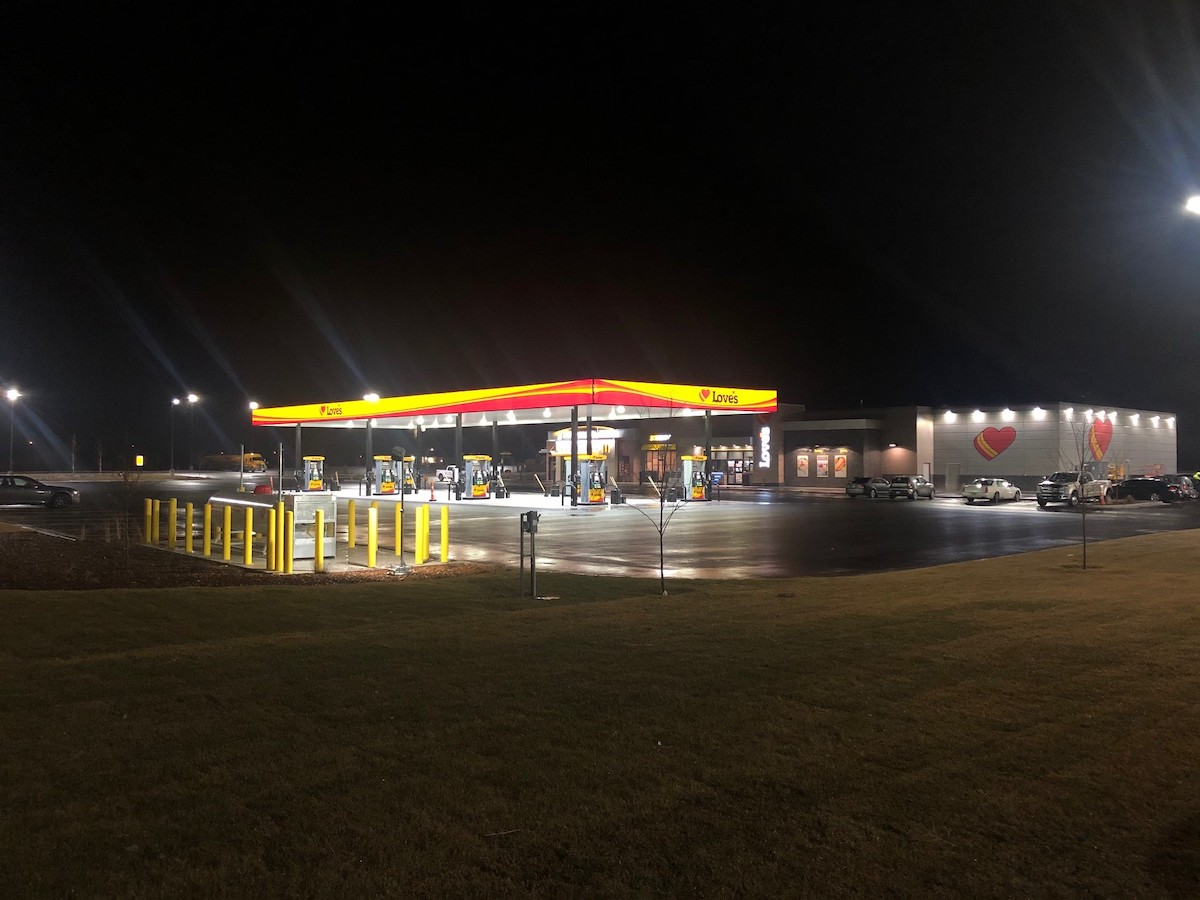 An image of Love's Travel Stop in Bliss, ID | Western Pump Construction
